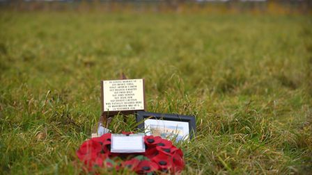 A special memorial service was held in Walpole St Andrew, where 75 years ago eight airmen lost their