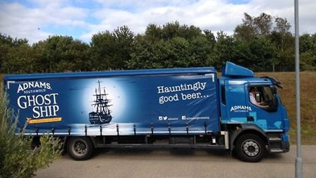 The 18-tonne truck Diesel Dynamics Ltd has converted to use natural gas for Adnams