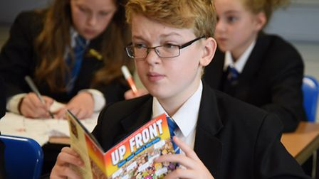 Pupils at Northgate High School enjoy their personal, social and health education lesson. Picture: D