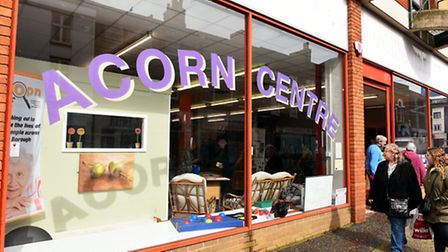 The opening day of the new Age Concern Great Yarmouth Acorn centre on Regent Street in Great Yarmout