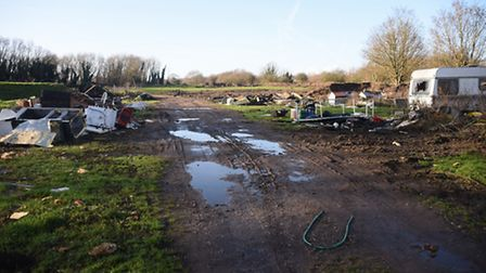 Land at the end of Swanton Road, next to an existing travellers site, where a further 13 travellers