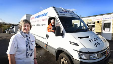 Mile Cross Business Centre is to close. Co-owner of Martin's Driver Training, Carol McCafferty and d