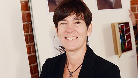 Director of Dereham College Phyllis O'Grady, who will step down from the role at the end of March.