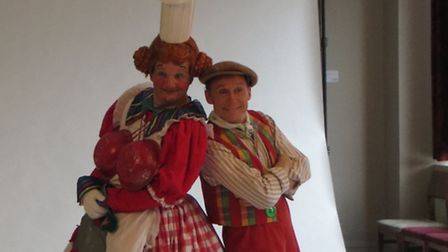 Popular double act Richard Gauntlett and Ben Langley have already been getting into character for 20