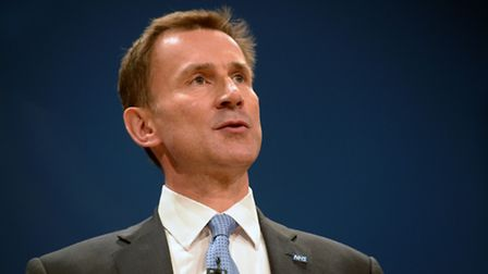 Jeremy Hunt. Picture: Ben Birchall/PA Wire