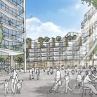 The design for the new homes in Anglia Square