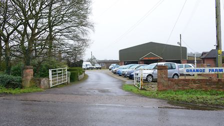 The John Faircloth sales site on Salhouse Road, near to where an application for 803 new homes has b