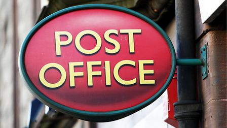 Generic view of a sign outside a post office. Danny Lawson/PA Wire