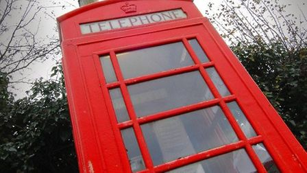 97 phone boxes face removal in West Norfolk.