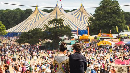 Plans have been submitted to allow more people entry to Latitude. Picture of festival-goers at Latit