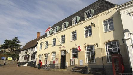 Diss Post Office in the Market Place. Picture: Angela Sharpe