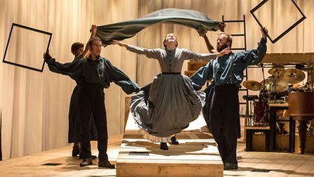 The company of Jane Eyre in Sally Cookson's bold, tumultuous staging, coming to Norwich. Picture: M
