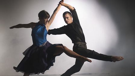 Liam Riddick and Oihana Vesga Bujan in Tangent, to be performed by Richard Alston dance. Picture: Ch
