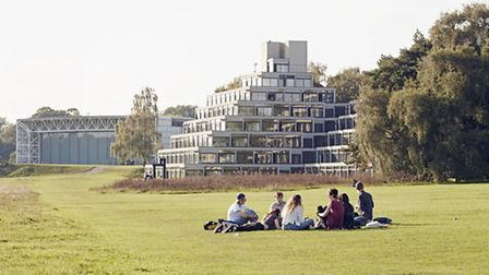 Students at the University of East Anglia. Picture: Joakim Boren