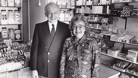 Bryan Westbrook pictured in Nelly's Sweet Shop, Picture: Submitted by Ian Westbrook