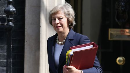 Theresa May has given a speech about mental health this morning. Picture by Philip Toscano/PA Wire