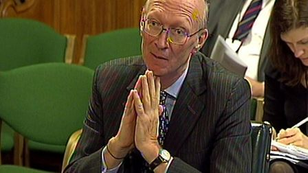 Chair of the Care Quality Commission David Prior answer questions on the 2013 accountability hearing