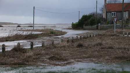 Concerns have been raised for the future of the A149 Coast Road between Sheringham and Blakeney afte