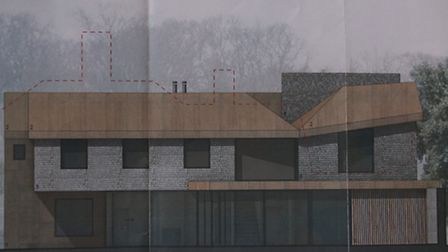 A graphic of the proposed new property in Blakeney. Picture: ALLY McGILVRAY