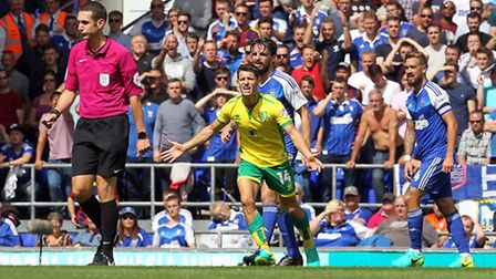 Norwich City's Championship derby against Ipswich Town next month has been selected for live televis