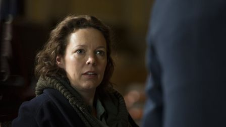 Olivia Colman in The Night Manager. Picture BBC/The Ink Factory/Des Willie