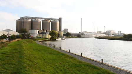 The British Sugar factory at Cantley . The 2015 sugar beet campaign gets underway. Picture: Jame