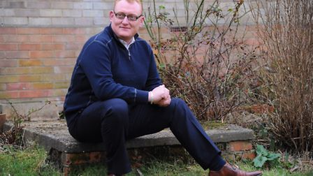 Former soldier, Luke Woodley from Costessey, who developed PTSD (post-traumatic stress disorder) and