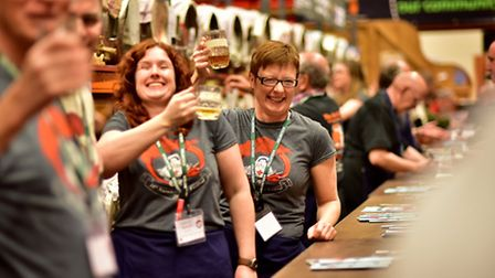 Norwich Beer Festival 2015. Picture: ANTONY KELLY