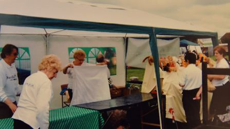 A photo of one of the Attleborough Macmillan Cancer Support Group's fetes. Picture: via SANDRA ADCOC