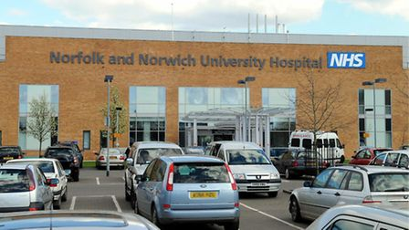 The Norfolk and Norwich University Hospital is experiencing very high demand from patients. Picture: