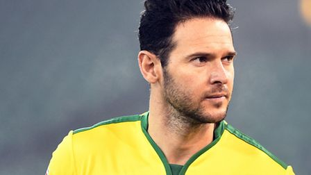 Matt Jarvis Norwich City U23 during the Checkatrade Trophy match at Carrow Road, NorwichPicture by