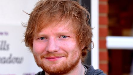 Ed Sheeran has donated some clothes to sell at the new EACH charity shop in Halesworth. Picture: Sim