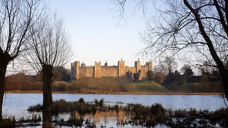 Framlingham Castle is the likely reference in Ed's song Castle on the Hill