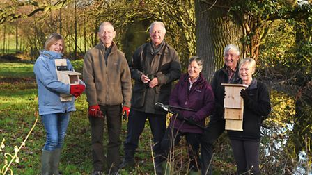 Launch of new wildlife conservation charity, the Felbeck Trust, at Mallett's Meadows in Aylmerton. L