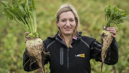 Frontier Agriculture agronomist Emily Page. Picture: Matthew Usher.