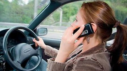 IAM Roadsmart wants a hi-tech solution to curb smartphone use in cars. Pictured supplied by IAM Road
