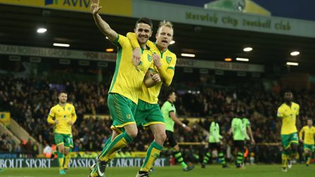 Robbie Brady slotted a second half penalty for Norwich City. Picture by Paul Chesterton/Focus Image