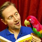 Robin Taylor will play the part of the parrot General Gordon in Cromer & Sheringham Operatic & Drama