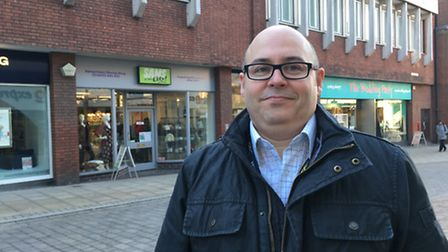 John Roberston, 45, of Russell Avenue in Sprowston, who works as a business analyst for Aviva. Pictu