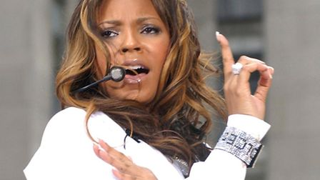 """Singer Ashanti performs during her appearance on NBC's """"Today"""" morning television show Summer Concer"""