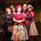 The cast of Cley Amateur Dramatic Society's panto Jack and the Beanstalk. Picture: ANNE PEGG