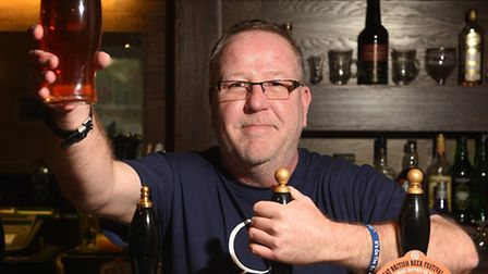Alan Pickering, who was diagnosed with testicular cancer last year has now got his local, at The Bob