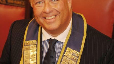 Ian Richards, who is to be King Rat of the Grand Order of the Water Rats for the second year running