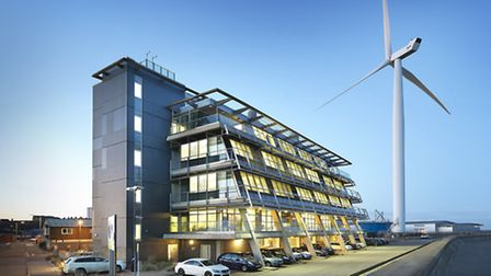 The OrbisEnergy building in Lowestoft. Picture: TMS MEDIA