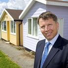 Beeston Group managing director Timothy Hay at Mundesley Holiday Village . Picture: MARK BULLIMOR