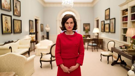 Natalie Portman as Jackie Kennedy in Pablo Larrain's first English language feature Jackie. Picture: