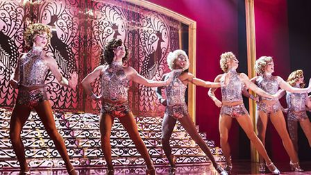 There is plenty of glitz and song and dance in this production of Pamela Raith. Picture: Pamela Rait