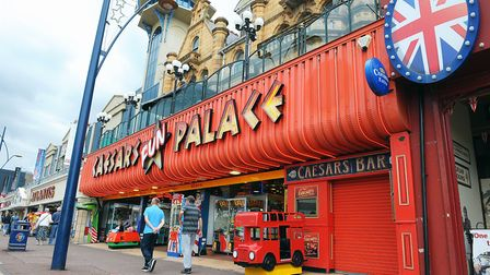 The entrance to Caesars Bar on Marine Parade. Picture: James Bass
