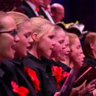 The 2015 EDP Festival of Carols at St Andrew's Hall, Norwich. The Broadland Youth Choir. PHOTO BY S