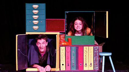 Action from the Sentence Snatchers. Picture: Flat Pack Productions